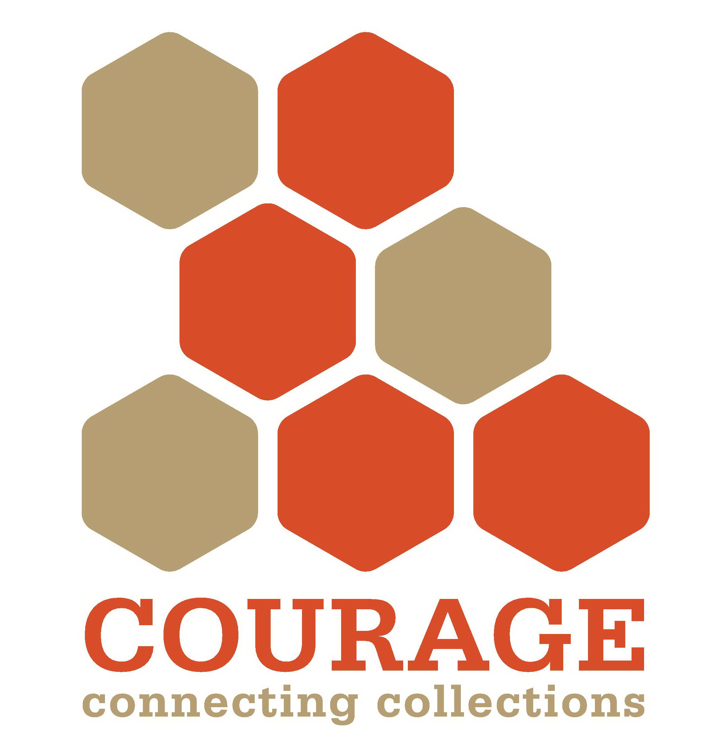 COURAGE new logo zoom